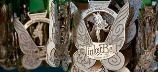 Tinker Bell Half Marathon Medals
