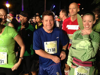 Sean Astin at the start of the 2013 Tinker Bell Half Marathon.