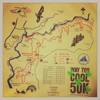 Way Too Cool course map