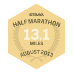Strava Half Marathon