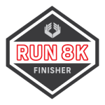 ROLL Recovery R8K Finisher Badge