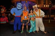 Genie, Jasmine, Aladdin, and ME!