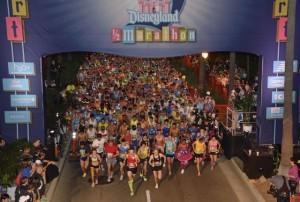 2012 Disneyland Half Marathon Start