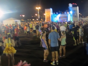Disneyland 10K Staging Area
