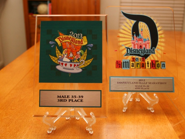 Disneyland 10K Age Group Award