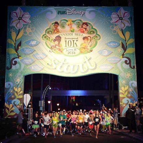 Tinker Bell 10K Start