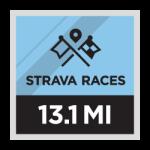 Strava Races 13.1