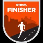 Strava Marathon Challenge Complete