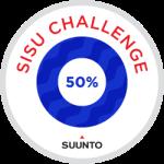 Strava Suunto Sisu Challenge 50%