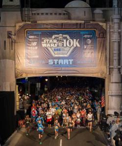 Star Wars 10K Start