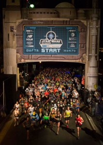 Star Wars Half Marathon Start
