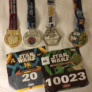 Star Wars Medals