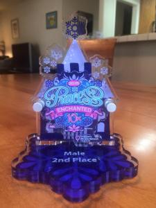 Princes Enchanted 10K Trophy