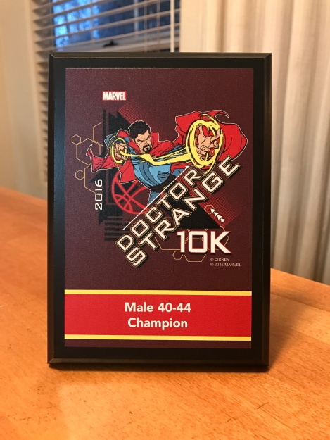 doctor-strange-10k-age-group-award